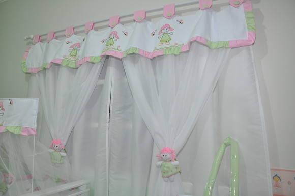 Cortina para quarto de beb sonho de beb enxovais elo7 - Cortinas para bebe ...