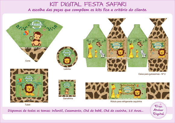 Kit Digital Festa Safari