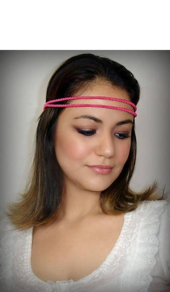 Headband Bella:pink