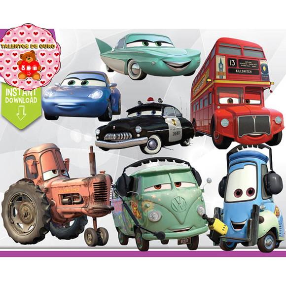 Imagens Carros Da Disney 1 2 3 Mcqueen Mate Mack E Seus Amigos Elo7