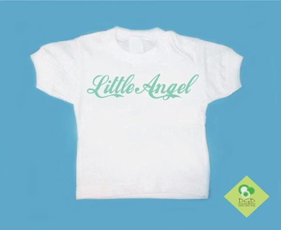 T-Shirt Bebê e Infantil LITTLE ANGEL