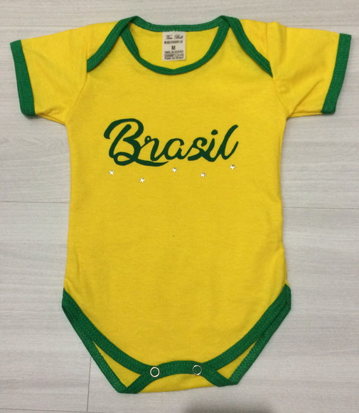 Body Copa do Mundo personalizado