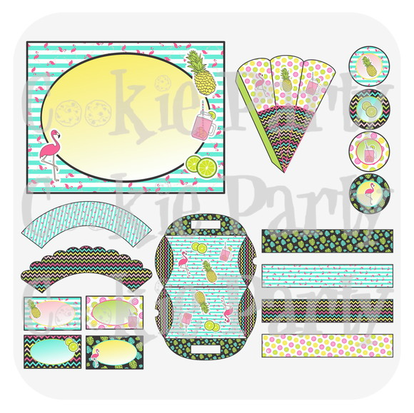 Kit Festa Tropical PDF