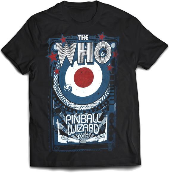 Camiseta The Who Banda Rock Unissex Feminina Infantil  c17b88e3a0766