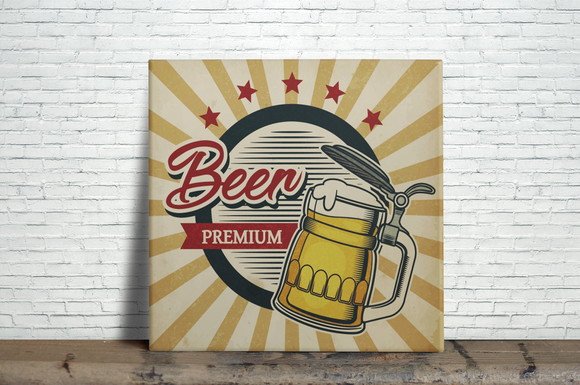 Azulejo Decorativo Beer Premium