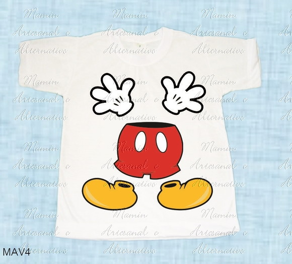 Camiseta divertida mickey amigos