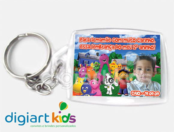 Chaveiro Discovery Kids