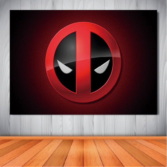 Painel Deadpool Background - 1,50x1,00m