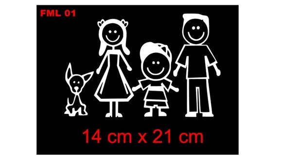 Armario Modulado Cozinha ~ Adesivo familia feliz para carro, familia reunida no Elo7 GL ADESIVOS (C5AA1D)