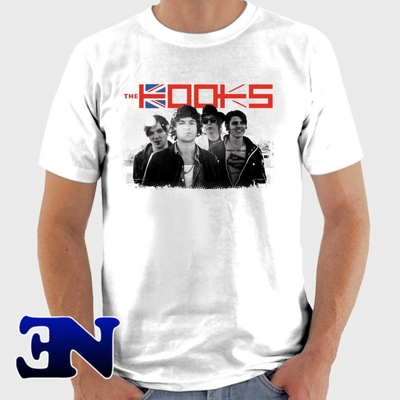 Camiseta The Kooks The Best Of So Far Banda Rock Shine On