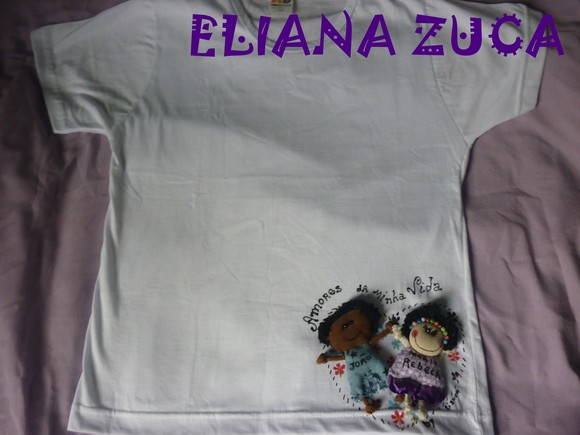 Camiseta customizada
