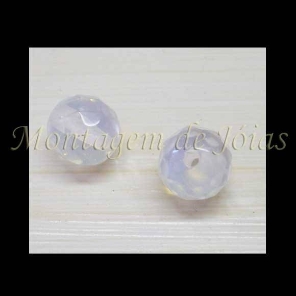 OPAL-03 - Opalina Facetada 8mm (4un)