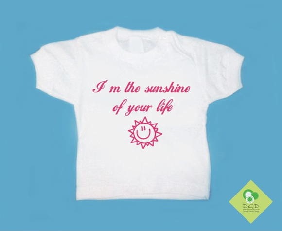 T-Shirt Bebê e Infantil THE SUNSHINE