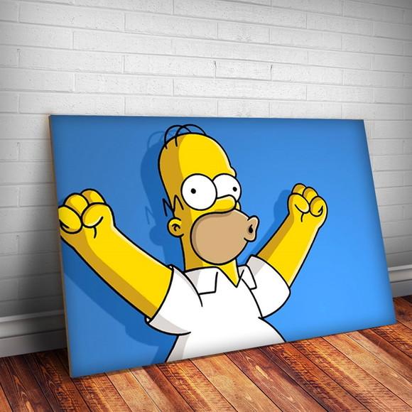 bfcd8102f Placa Decorativa The Simpsons 9-30x20cm no Elo7