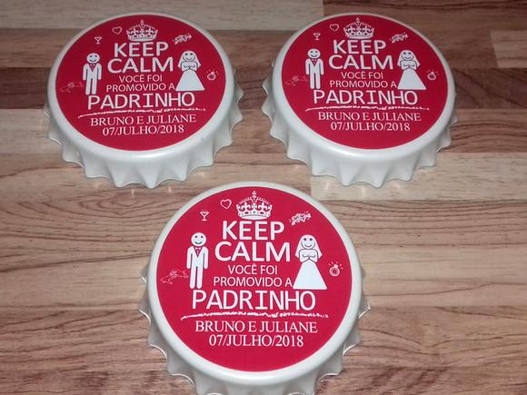 Abridor De Garrafas Keep Calm