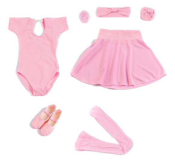 d77f7625cd Conjunto Ballet Infantil Completo
