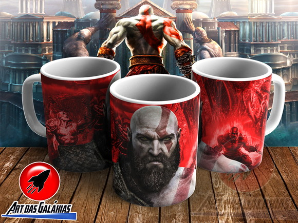 Caneca God of War MOD18