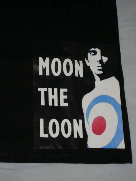 Camiseta Keith Moon
