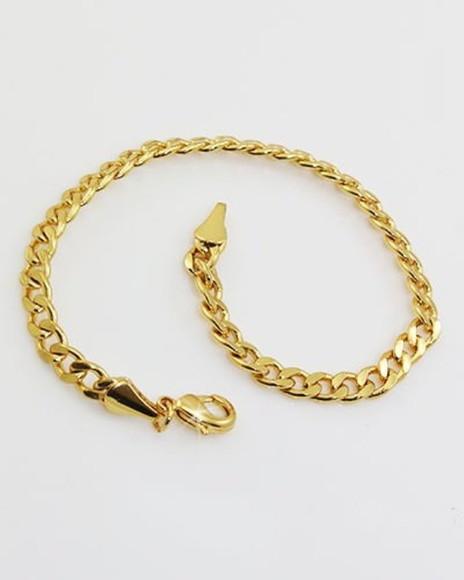 338a11dab6afb Cordao Masculino Grumet Ouro   Elo7