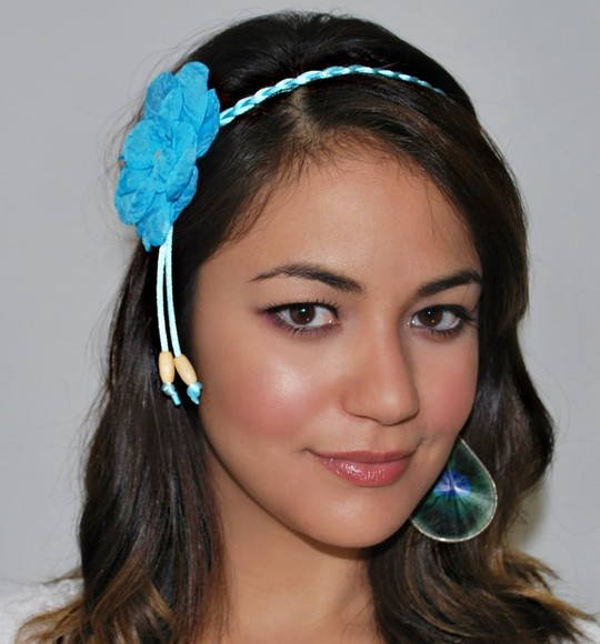 Headband SUMMER blue