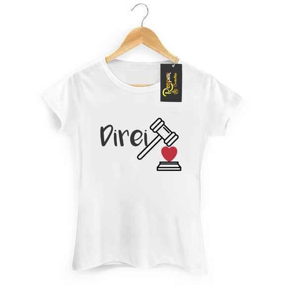 9aceafa185 Camiseta Universitaria Divertida Tem que Fazer Direito