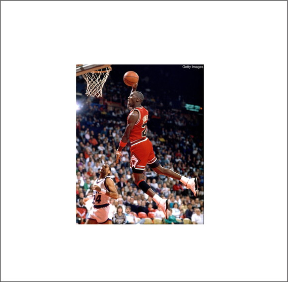 8893ba001a4 Adesivo Chicago Bulls Michael Jordan