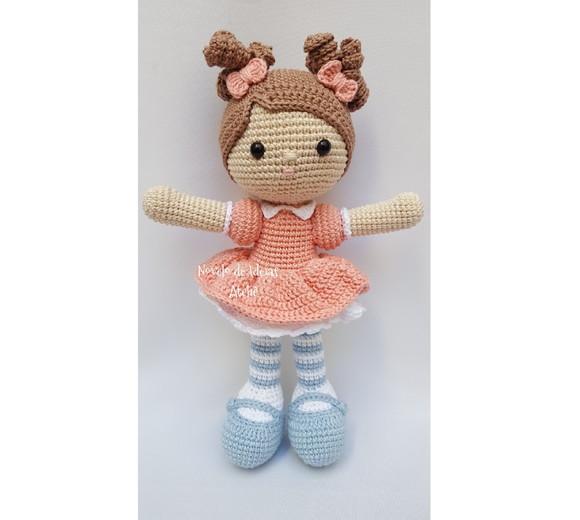 O Mundo Encantado das Bonecas em Crochê | Amigurumi passo a passo ... | 520x580