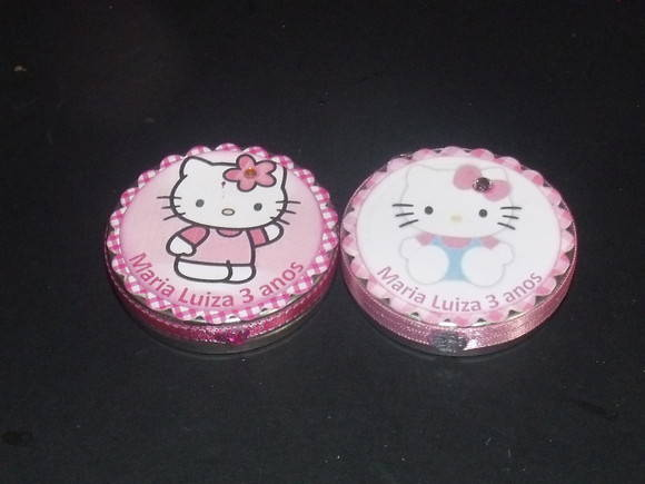Latinhas Mint to Be Hello Kitty