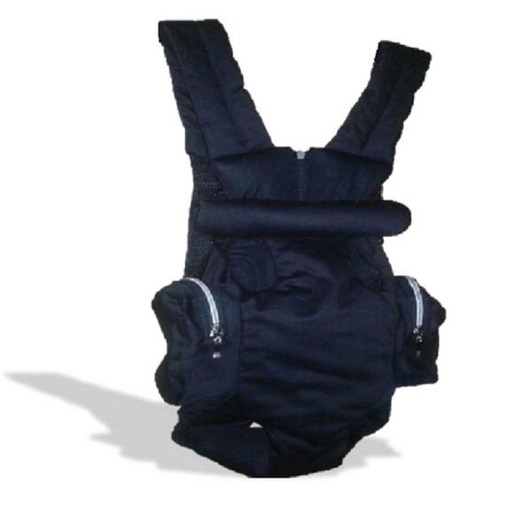 687fd0c2c Mochila Canguru Transporte Pet Jeans