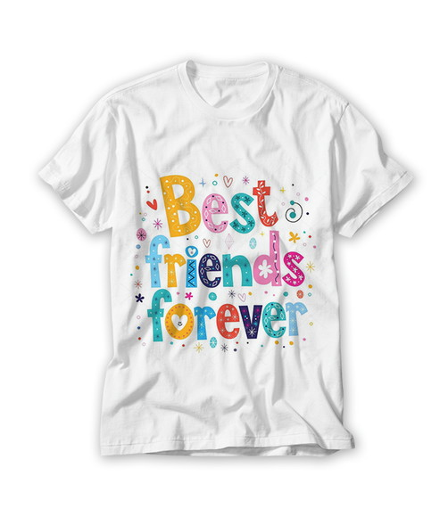 Camiseta Best Friends Forver