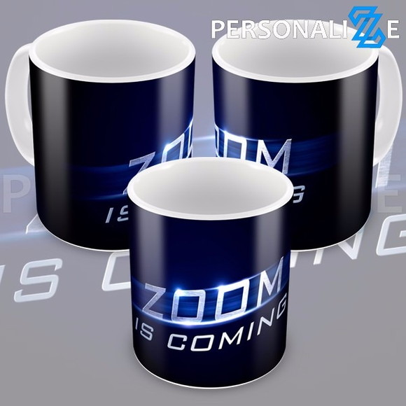 Caneca Seriado The Flash Zoom Is Coming Temporada