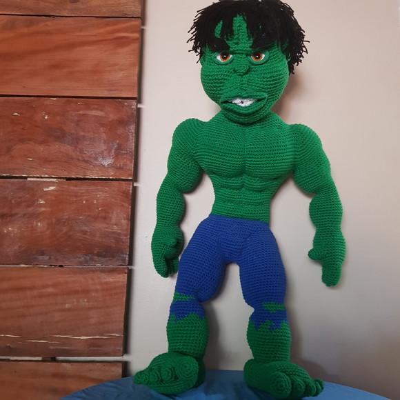 Hulk Amigurumi - Crochê   AmiguMeu no Elo7   AMIGUMEU (D675B0)   580x580