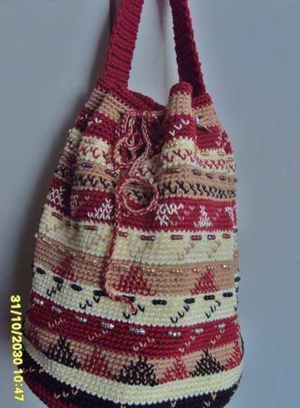 Bolsa De Croche Para Casamento : Bolsa de croch? bordada luciana mexias rocha elo
