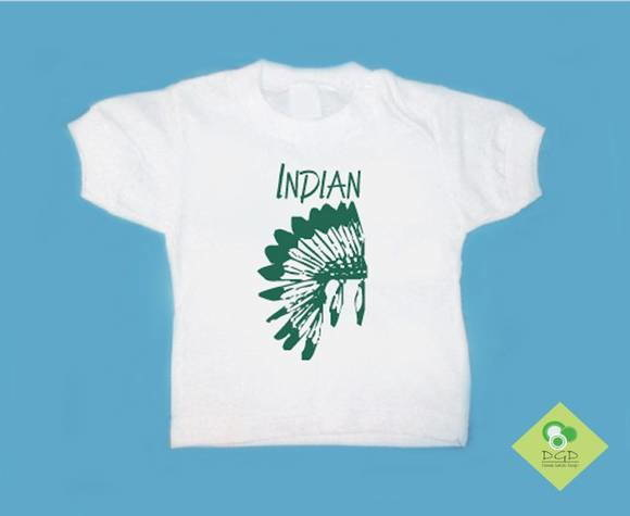 T-Shirt Bebê e Infantil INDIAN