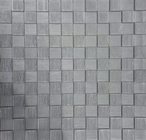 Mosaico cinza no elo7 decortak d03a85 for Mosaico adesivo 3d