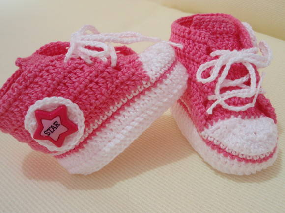 TENIS ALL STAR BABY ROSA