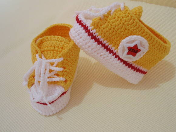 TENIS ALL STAR BABY AMARELO