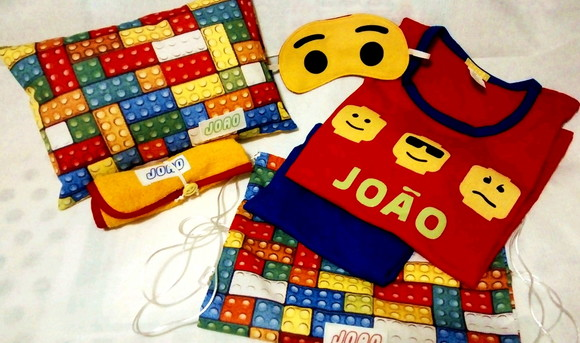 Festa do Pijama kit Lego Movie