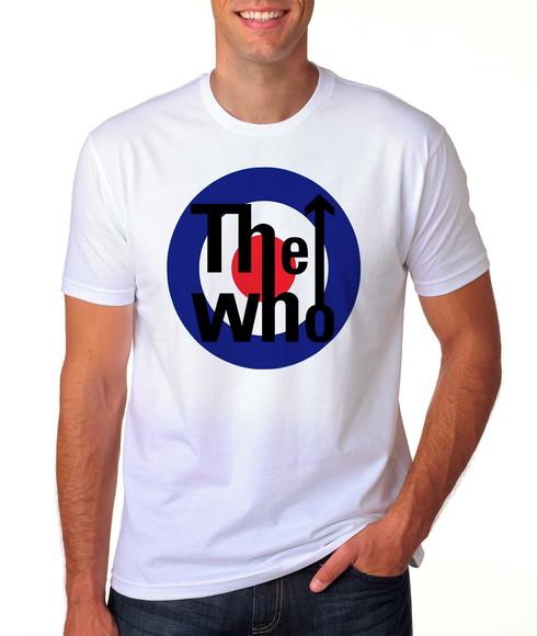 Camiseta The Who Banda Musica A3  a5d95bcbda5ee