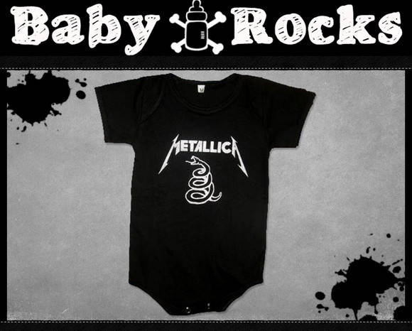 Body ou Camisetinha Metallica