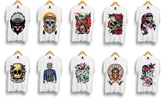 d301b228f Kit com 10 Camisetas Masculinas para Revender Atacado