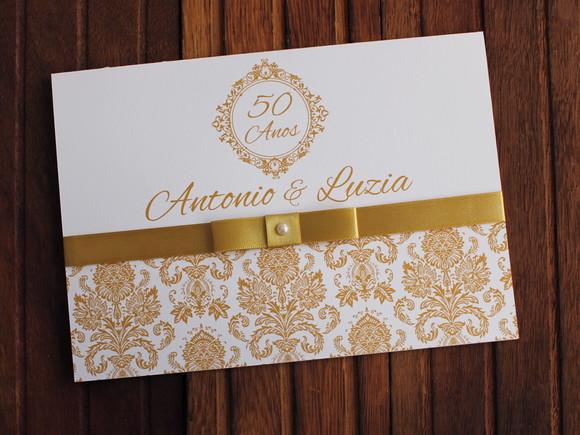 Quero Montar Meu Convite De 50 Anos: Casamento Dourado Barato 50 Anos