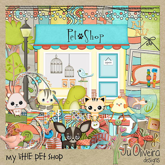 My Little Pet Shop by Ju Oliveira