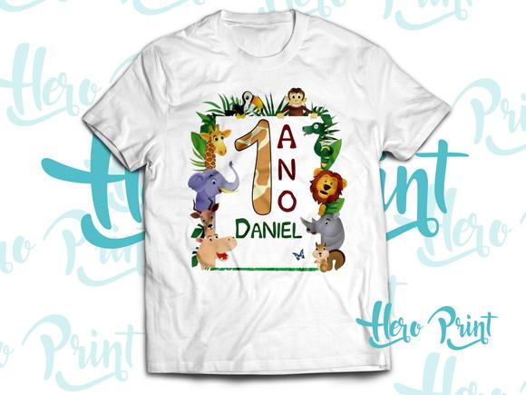 6703dcc966 Camiseta Floresta