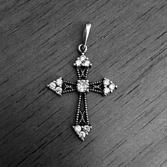 Cruz Palito Crucifixo Prata 925   Elo7 c33d70de54
