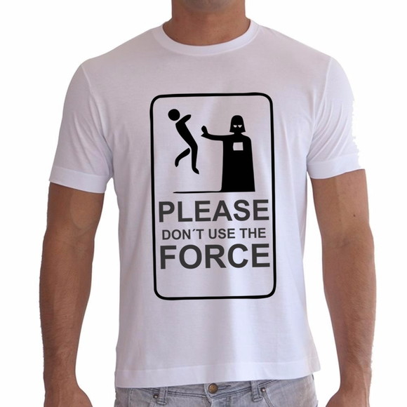 Camiseta Darth Vader Don´t Use The Force