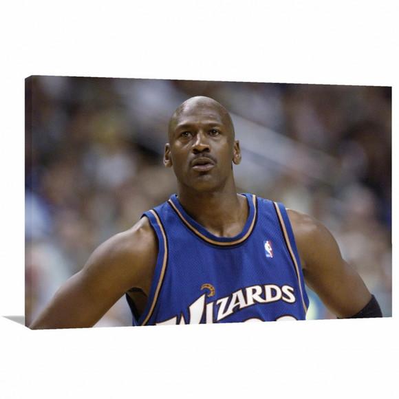 c6590ef116d Quadro Michael Jordan Artistico Decorativo Tela em Tecido