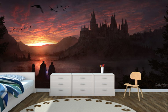 Papel De Parede Harry Potter 3,70 X 2,75 No Elo7
