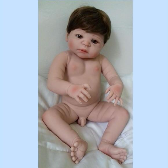 3df9bc2603012a Boneca Bebe Reborn Menino Negro | Elo7