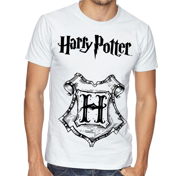Camiseta Camisa Harry Potter Hogwarts